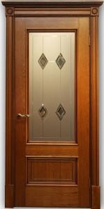 Межкомнатная дверь Йорк медовый дуб